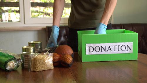Where to donate food