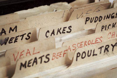 Old Recipes Box