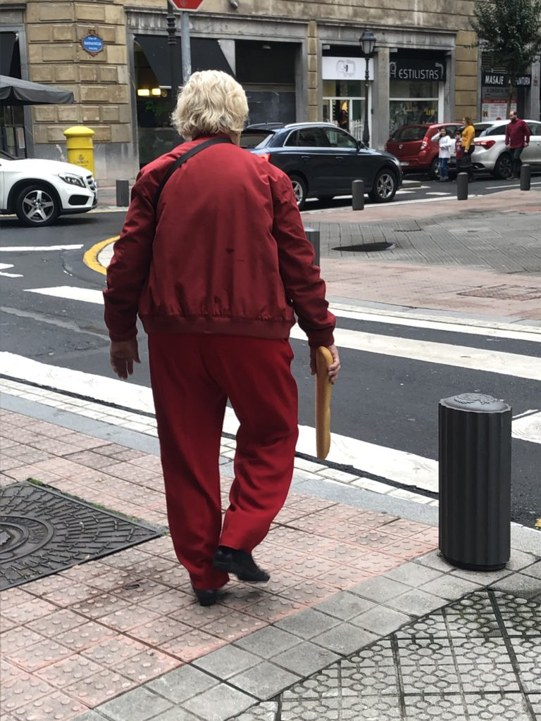 Lady With Baguette