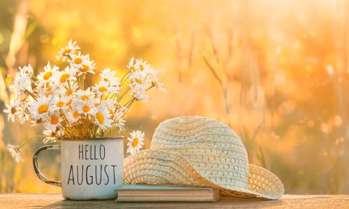 August already